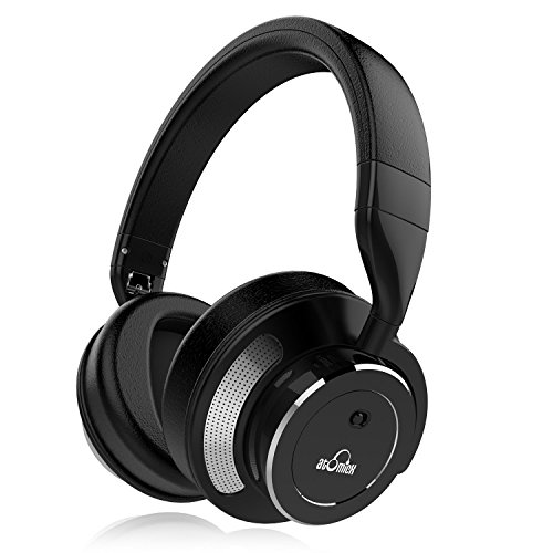 black active noise cancelling bluetooth headphones ideausa wireless headphones with. Black Bedroom Furniture Sets. Home Design Ideas
