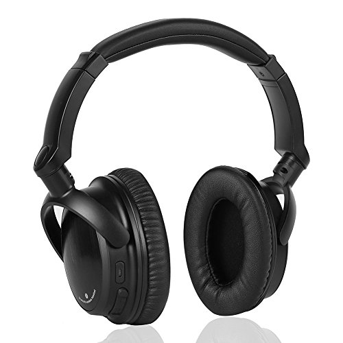 sbode bluetooth headphones over ear wireless hifi stereo adjustable headsets noise cancelling. Black Bedroom Furniture Sets. Home Design Ideas
