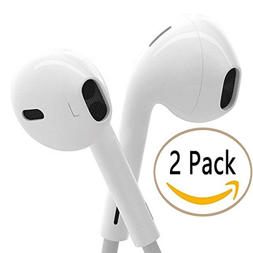 In ear earbuds with mic - wired earbuds with microphone pack
