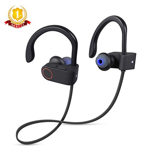 bluetooth headphones bestfy wireless stereo headphones earbuds sports in ear noise canceling. Black Bedroom Furniture Sets. Home Design Ideas