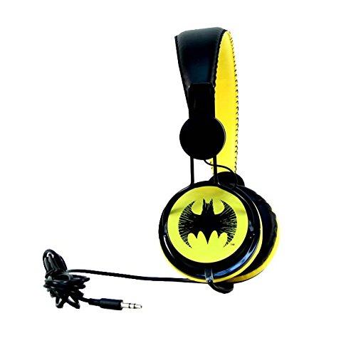 Bioworld Dc Comics On Ear Batman Headphones Shoppingsound