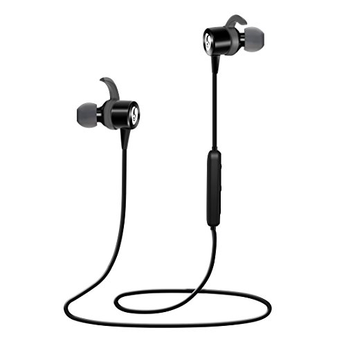 labvon bluetooth headphones magnetic wireless in ear sports earbuds sweatproof earphones noise. Black Bedroom Furniture Sets. Home Design Ideas
