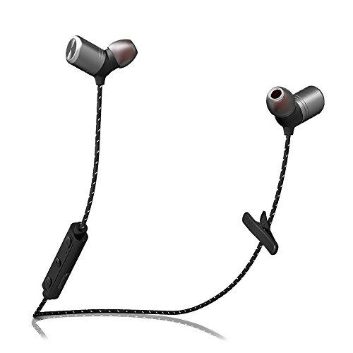 Braided wire earphones - wireless earphones noise cancellation