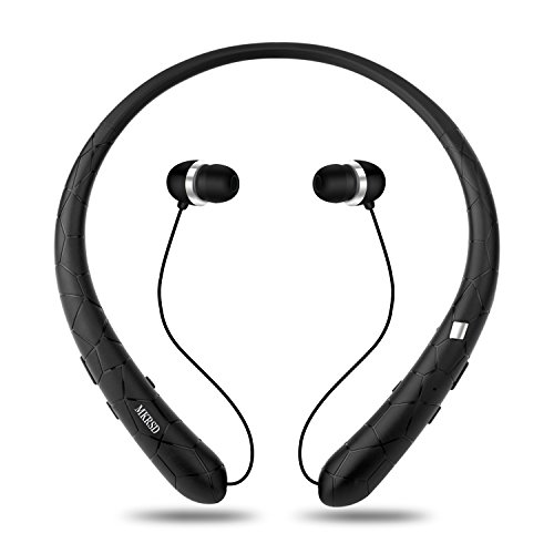 Wireless earbud neckband headset retractable - powerbeats 2 wireless earbuds replacements