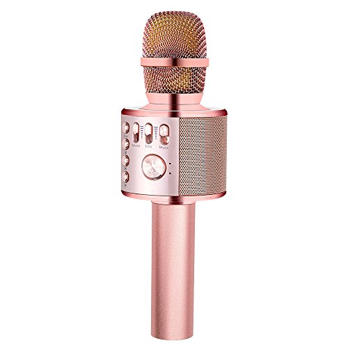 iphone karaoke microphone bonaok wireless karaoke microphone gold plus 11970