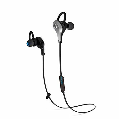 black bluetooth earbuds mixcder pro911 bluetooth v4 1 wireless stereo headphones hands free. Black Bedroom Furniture Sets. Home Design Ideas