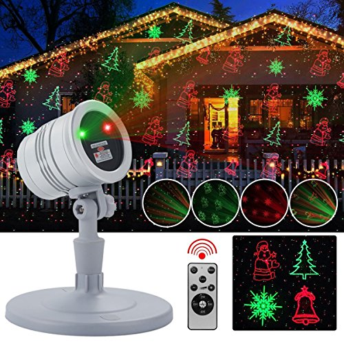 Christmas Projector Lights Malivent Waterproof Laser