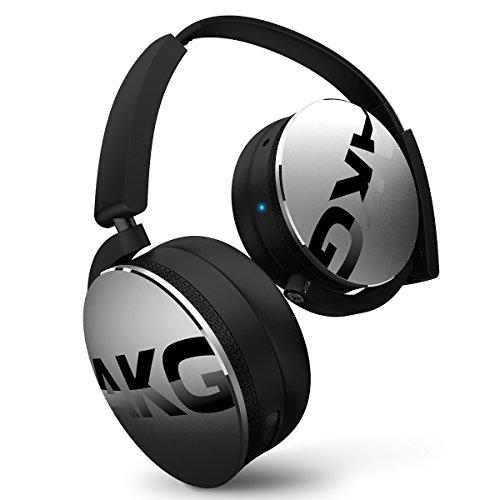 AKG K 845BT Bluetooth Wireless On-Ear Headphones, Black