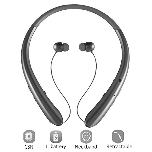Earbuds bluetooth wireless for iphone - retractable earbuds for iphone 8