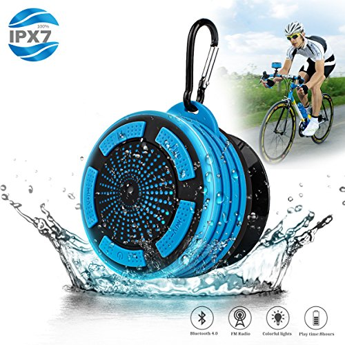 Portable Waterpoof Bluetooth Speaker Shower Radios With