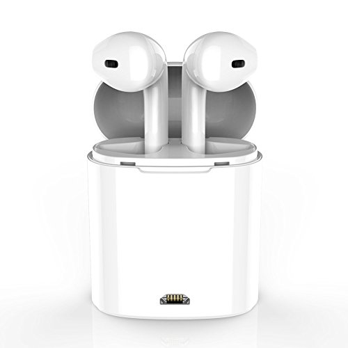Bluetooth Earbuds, Wireless In-Ear Headphones Hands Free Noice Cancelling Headset With Portable