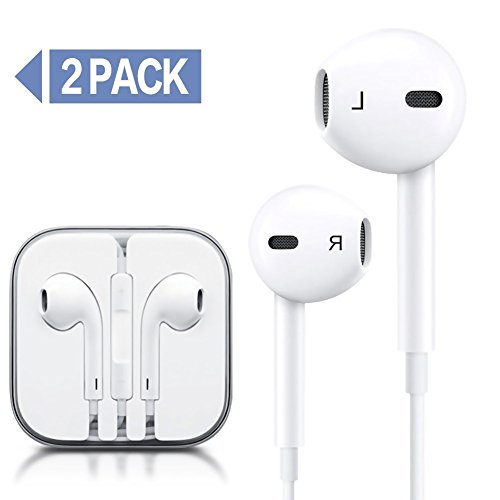 Earbuds for kids pack - wired earbuds 3 pack
