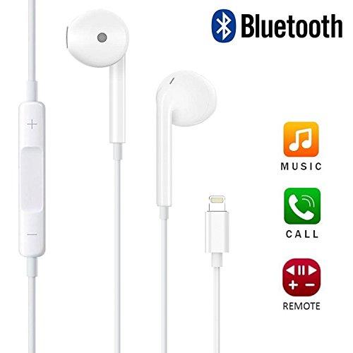 White iphone bluetooth headphones - headphones iphone lightning